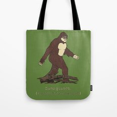 The Samsquanch (Anthropoidipes Sunnyvalis) Tote Bag