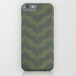 Juliet in Olive Green iPhone Case