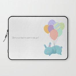 Floating Rabbit Laptop Sleeve