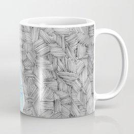 Zentangle Peace Sign Coffee Mug