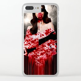 Trouble In Acapulco Clear iPhone Case
