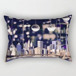 Spotlight on New York Rectangular Pillow