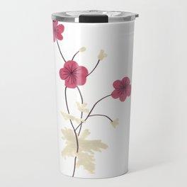Armenian Cranesbill Flower Travel Mug