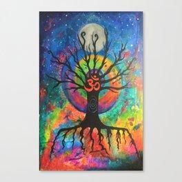 Cosmic OM Canvas Print