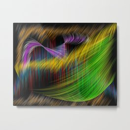 Magic turbulence Metal Print