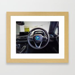 BMW i8 Interior  Framed Art Print