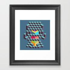 Geo 04 Framed Art Print