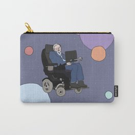 Stephen Hawking art Carry-All Pouch