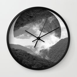moutains Wall Clock