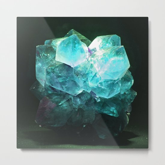 My Magic Crystal Story Metal Print