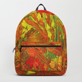 Summer doodle Backpack