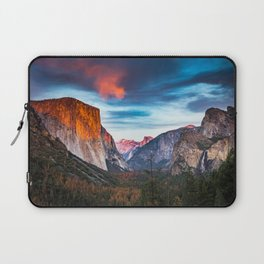 Yosemite tunnel view at sunset Laptop Sleeve