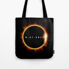Total Solar Eclipse August 21 2017 Tote Bag