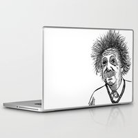 einstein Laptop & iPad Skins featuring Einstein by AlphaVariable