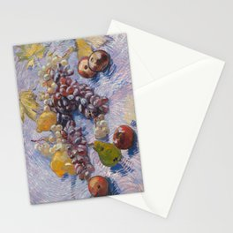 Apples, Pears, Lemons and Grapes by Vincent van Gogh, 1887 Stationery Cards