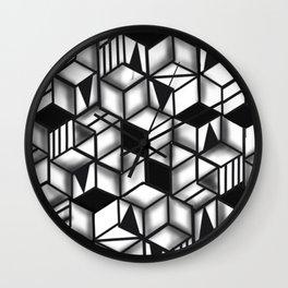 Obstacles 3D Wall Clock