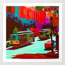 San Francisco 005 Art Print