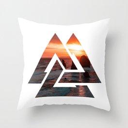 viking symbol 1 Throw Pillow