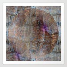 Celestial Brush Art Print
