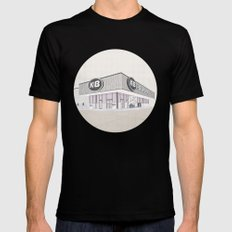 I Assure You, We're Open (clerks) Black MEDIUM Mens Fitted Tee