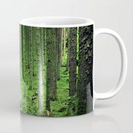 Green Wood Coffee Mug