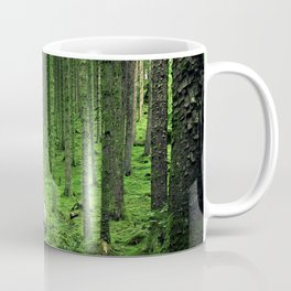 Green Wood Coffee Mug