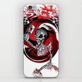 Ltd Edition: skull art design iPhone Skin