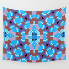 blue sleep Wall Tapestry