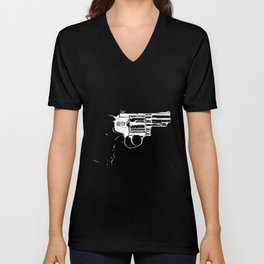 Gun #27 Unisex V-Neck