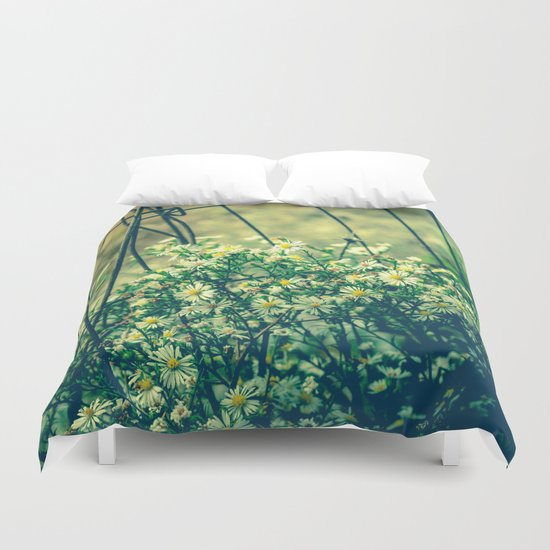 Bloom With Wild Abandon Duvet Cover