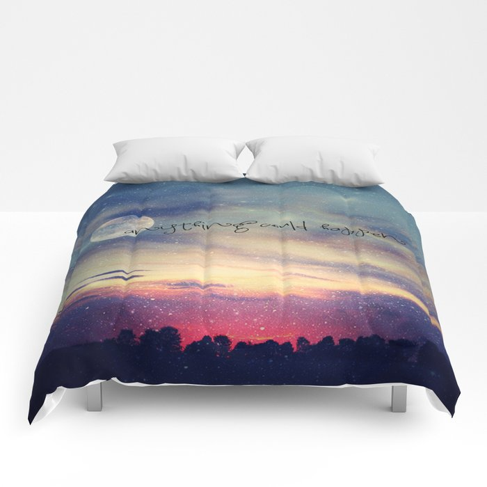 ANYTHING COULD HAPPEN Comforters