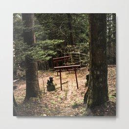 Toho path to forest shrine Metal Print