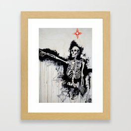 Such Short Time to be Here Framed Art Print