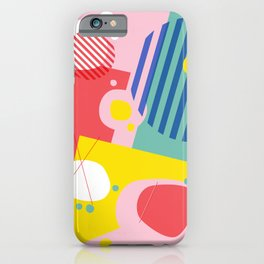 Abstract Pop I iPhone Case