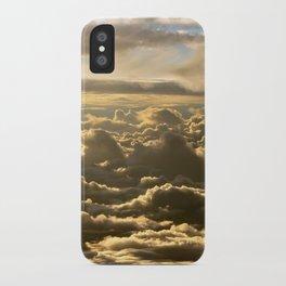 Sky over the Atlantic Ocean iPhone Case