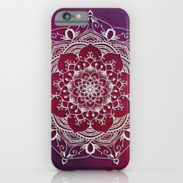 Mandala - Love iPhone Case