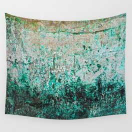 Emerald Impression Wall Tapestry