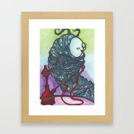 The Catapillar Framed Art Print