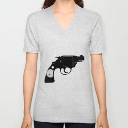 Detectives Revolver Unisex V-Neck