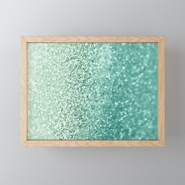 SEAFOAM Framed Mini Art Print