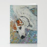 virginia Stationery Cards featuring Virginia by gretzky