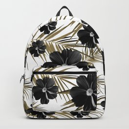 Tropical Diamond Flowers #1 #chic #floral #palms #decor #art #society6 Backpack