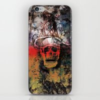 fear iPhone & iPod Skins featuring FEAR by sametsevincer