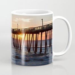 Rodanthe Pier Sunrise Coffee Mug