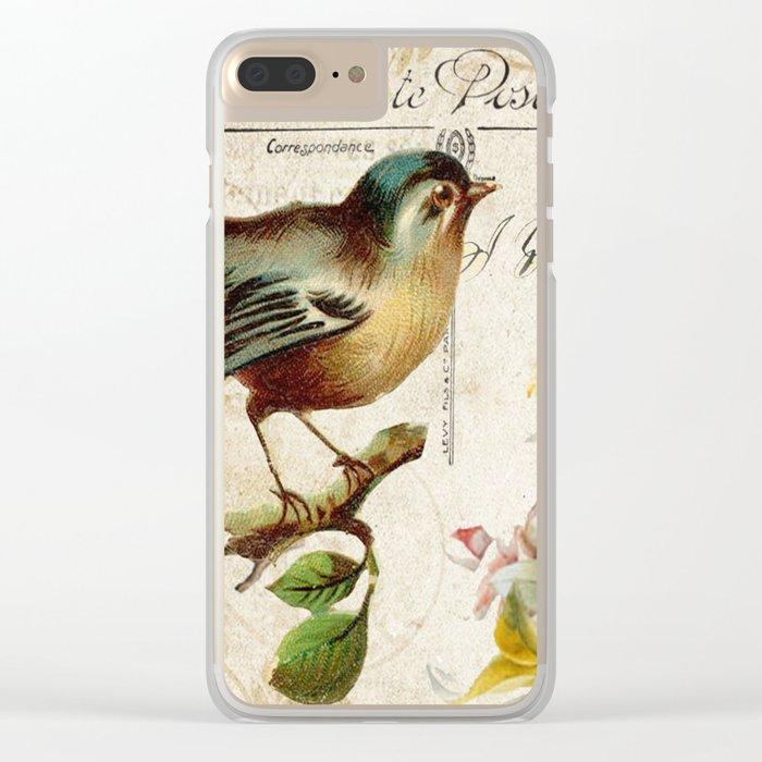 Sweet bird #2 Clear iPhone Case