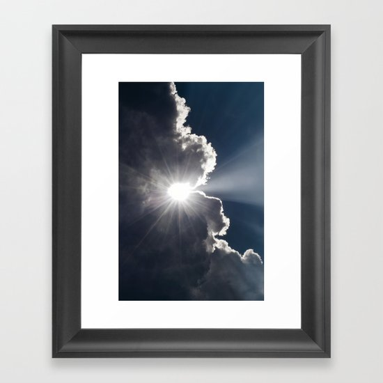 A Small Glimpse of His Glory Framed Art Print