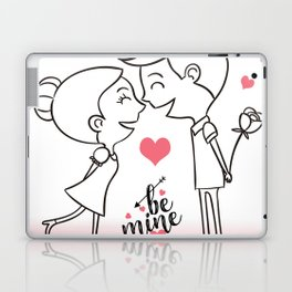 Valentines Day Special Love Couple Laptop & iPad Skin