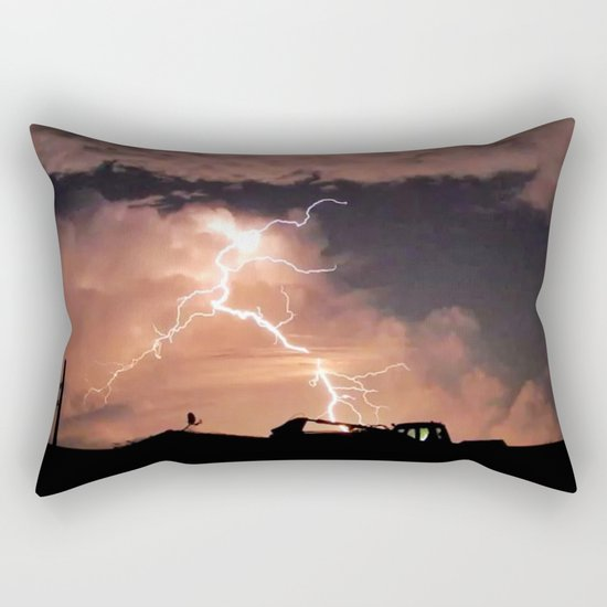 Mister Lightning Rectangular Pillow