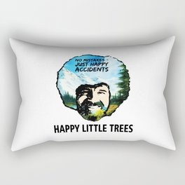 Just Happy Accidents Rectangular Pillow