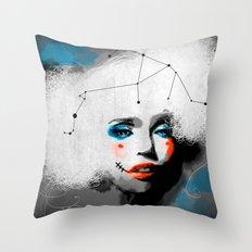 Zero City Throw Pillow